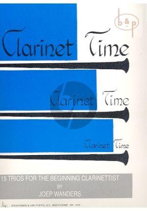 Klarinetboek-clarinet Time-trio-Joep-Wanders-isbn-701067