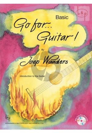 Gitaarboek-Go for Guitar Basic-Joep-Wanders-isbn-715759