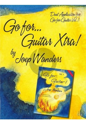 Gitaarboek-Go for Guitar Xtra-Joep-Wanders-isbn- 728759