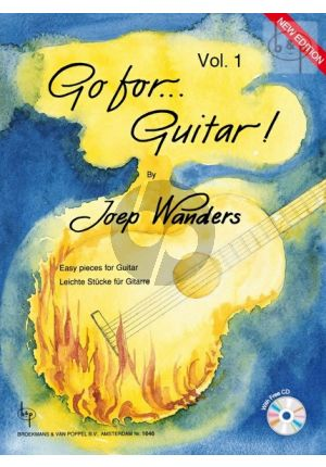 Gitaarboek Go for Guitar vol.1 Joep Wanders isbn 1701941