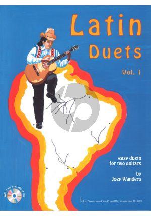 Gitaarboek-LatinDuets-vol.1-Joep-Wanders-isbn--709729