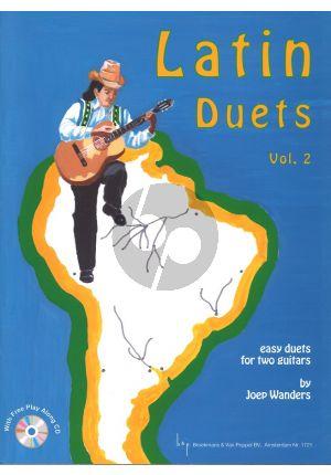 Gitaarboek-LatinDuets-vol.2-Joep-Wanders-isbn--709930