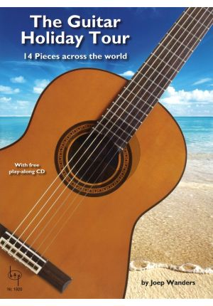 Gitaarboek-The Guitar Holiday Tour-Joep-Wanders-isbn-907668