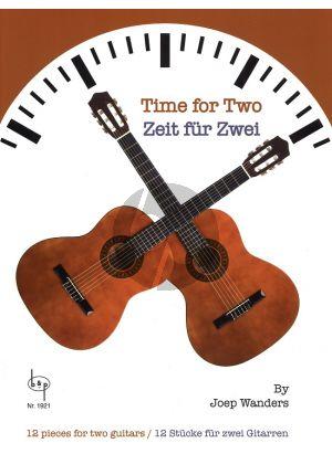 Gitaarboek-Time for Two-Joep-Wanders-isbn-907669