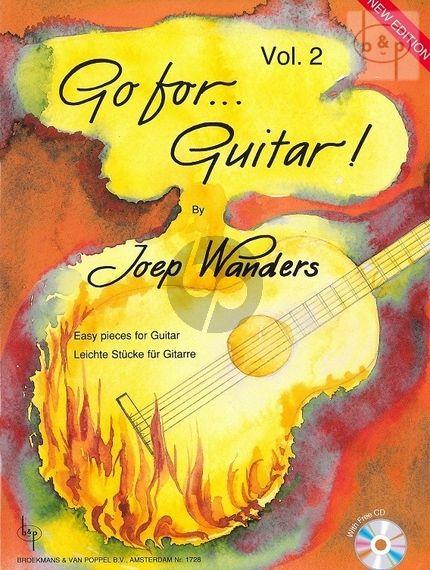 Gitaar muziek Go for guitar Joep Wanders Vol 2