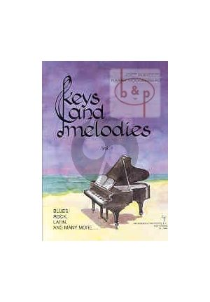 Pianoboek-Keys and melodies-vol.1-Joep-Wanders-isbn- 702358