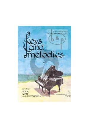 Pianoboek-Keys and melodies-vol.2-Joep-Wanders-isbn- 702359