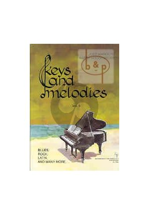 Pianoboek-Keys and melodies-vol.3-Joep-Wanders-isbn- 702360