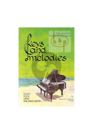 Pianoboek-Keys and melodies-vol.4-Joep-Wanders-isbn- 702361