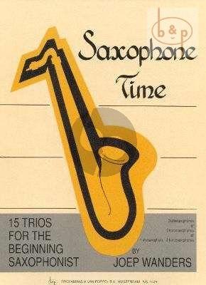 Saxophone time_trios_Joep_wanders_isbn_701195