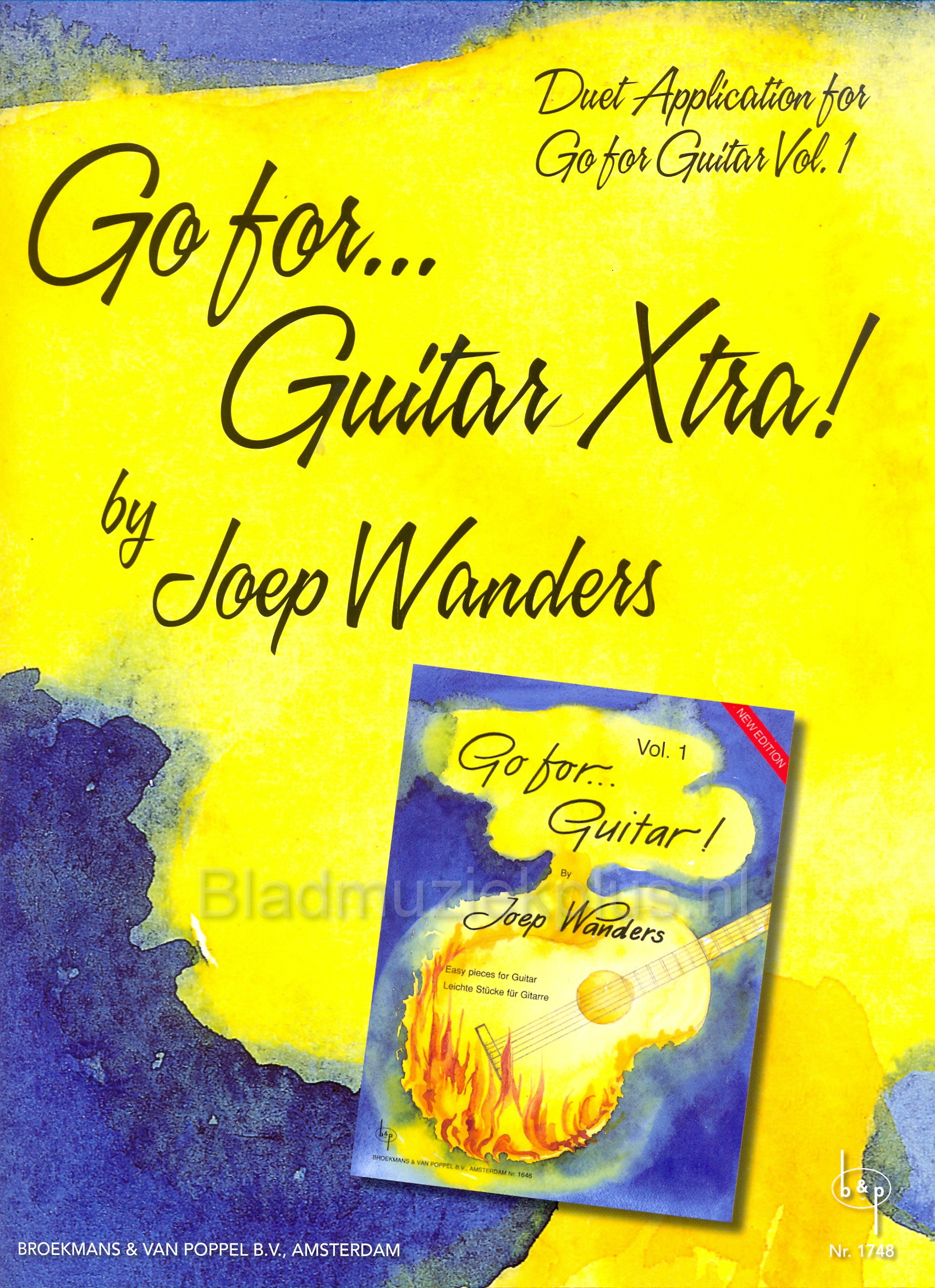 Go for Guitar Xtra Joep Wanders